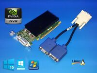 HP Compaq Pro SFF 6000 6200 6250 6300 NVIDIA SFF Dual VGA Monitor Video Card