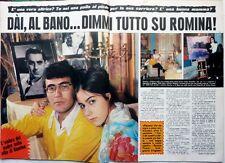 AL BANO / ROMINA POWER => Ritaglio 3 pagine 1971  // ITALIAN CLIPPING