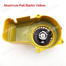 Yellow Aluminum Pull Starter For Mini Dirt Moto Pocket Bike Kids Quad  47cc 49cc