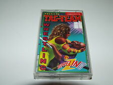 TAG TEAM WRESTLING (AMERICAN) by ZEPPELIN for COMMODORE C64 RARE COMPLETE