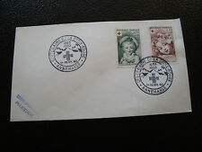 FRANCE - 2 enveloppes 27 28/4/1963 (croix-rouge) (cy57) french (E)