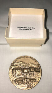 1972 Medallic Art Co Medal Petrified Forest Coyote National Parks Centennial