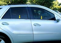 4pc Chrome Stainless Window Sill Trim for 2000-2005 Chevrolet Impala
