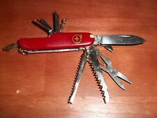 SWISS ARMY KNIFE. Their are 11 different blades on this knife.