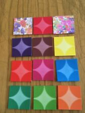3 x 180 sheets Mini Origami folding paper 4cmX4cm  Made In Japan