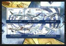 Avions Mozambique (68) série complète de 6 timbres oblitérés