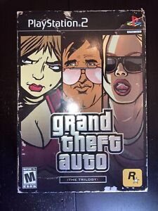 Grand Theft Auto The Trilogy PS2 GTA III, Vice City San Andreas POSTER & MANUALS