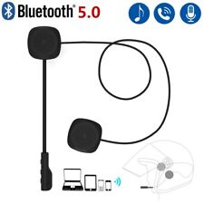Casque moto Bluetooth 5.0 EDR casque écouteur sans fil mains libres avec micro