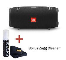 JBL Xtreme 2 Waterproof Portable Bluetooth Speaker (Black) with Bonus Cleaner