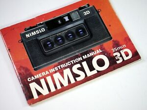 Original instructions for NIMSLO 3D camera - BC
