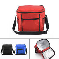 Large Portable Cool Bag Insulated Thermal Cooler For Food Drink Lunch Picnic