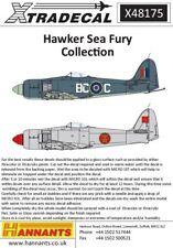Xtradecal X48175  1:48 Hawker Sea Fury FB.11 / FB.60 - 6 Markings Options