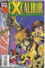 Excalibur Comic Issue 87 Modern Age First Print 1995 Warren Ellis Ken Lashley