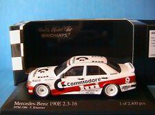 MERCEDES 190E 2.3 16V #9 DTM 1986 TEAM MARKO RSM KLAMER MINICHAMPS 400863509