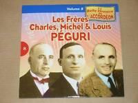 CD / LA BELLE HISTOIRE DE L'ACCORDEON VOL 8 / LES FRERES PEGURI / TRES BON ETAT
