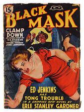 Erle Stanley Gardner-BLACK MASK PULP MAGAZINE (JUNE 1940)-RAFAEL DE SOTO COVER