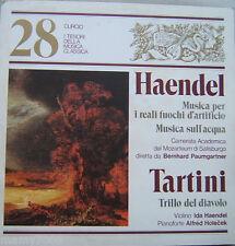 I TESORI DELLLA MUSICA CLASSICA=N°28=HAENDEL=TARTINI