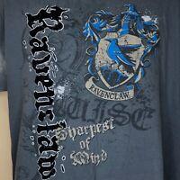 Ravenclaw T-Shirt Wizarding World Of Harry Potter Universal Studios Men's XL