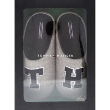 975c00f8794e £150 Tommy Hilfiger Designer Mule Grey Fleece Lined Slippers