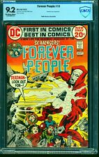 Forever People #10 CBCS NM- 9.2 Off White to White