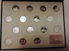 15 x 5 EUROS. PLATA. SERIE I,II, III UNESCO CIUDADES PATRIMONIO HUMANIDAD ESPAÑA