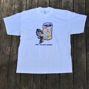 Vintage Brisk James Brown Promo T Shirt Deadstock New Old Stock Men's sz XL