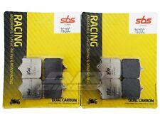 Aprilia RSV 1000 Factory Pista 2004+ SBS Dual Carbon Front Brake Pads 762DC