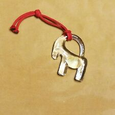 Handmade Boda Sweden Glass Donkey Ornament Hand Blown Collectible Ornaments