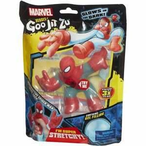 Heroes of Goo Jit Zu Marvel Radioactive Glow in the Dark Stretchy Spider-Man