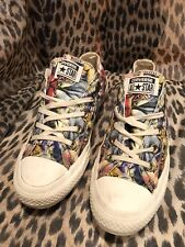 Converse Ct Ox Womens Style 547279F Size 5.5 US 36 EU Tropical Floral Print