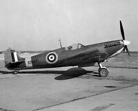 New 8x10 World War II Photo: RAF Supermarine Spitfire Mk Va at Langley - c. 1941