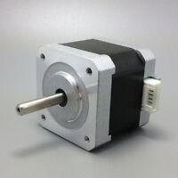 CNC Nema17 Hybrid Stepper Motor DC12V 2-Phase 4.2kg.cm 4-Lead 1.8 Degree Fine