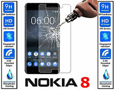 Genuine 100% TEMPERED GLASS Invisible Screen Protector For Nokia 8