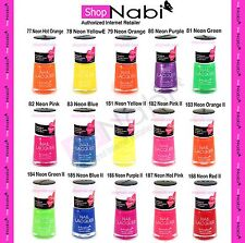 15pcs NEON Color Nabi Nail Polish