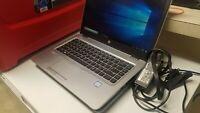 """HP EliteBook 840 G3 14"""" Laptop i5-6200U 2.3GHz 256 Gb HDD 16GB RAM Windows 10"""