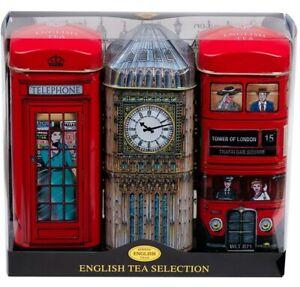 Traditional English Teas London Collection - 3 Tins
