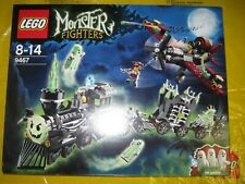 LEGO 9467 MONSTER FIGHTERS THE GHOST TRAIN RARE RETIRED NEW SEALED 2012 SET