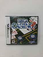 Sega Casino - Nintendo DS Game Brand New Factory Sealed