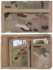 MultiCam Camouflage Commando Wallet - Rothco Camo Nylon Military Trifold Wallets