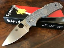Spyderco Knife Native 5 Grey FRN Handle Maxamet Blade C41PGY5