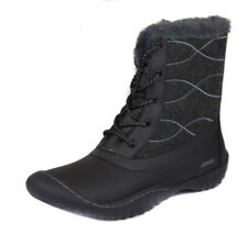 Jambu Womens Autumn Closed Toe Ankle Cold Weather BOOTS Black Size 8.5 4c047f9fc7138