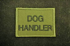 British Army - Dog Handler Subdued Sew On Patch -  No864