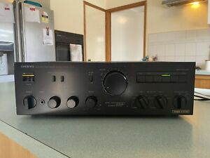 Vintage Onkyo Integrated Stereo Amplifier. Model: Integra A-815RX.