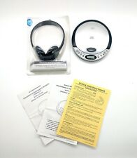 Durabrand Cd-566 Cd Player Tested Works. Onn Headphones Nib