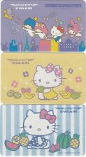 Playing Swap Cards  GENUINE 3 only single EVA AIRLINES HELLO KITTY