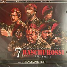 GIANNI MARCHETTI - 7 BASCHI ROSSI - soundtrack CD