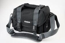 Canon Black DSLR Camera Shoulder Case Bag with Strap