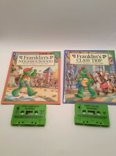 franklin book on tape paulette bourgeois kids book lot 2 books