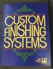 Custom Finishing Systems Ppg Ditzler Automotive Paint How-to Book