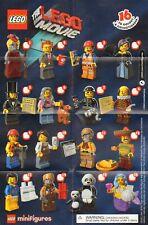 LEGO MOVIE SERIE 1 MINIFIGURES MINIFIG 71004